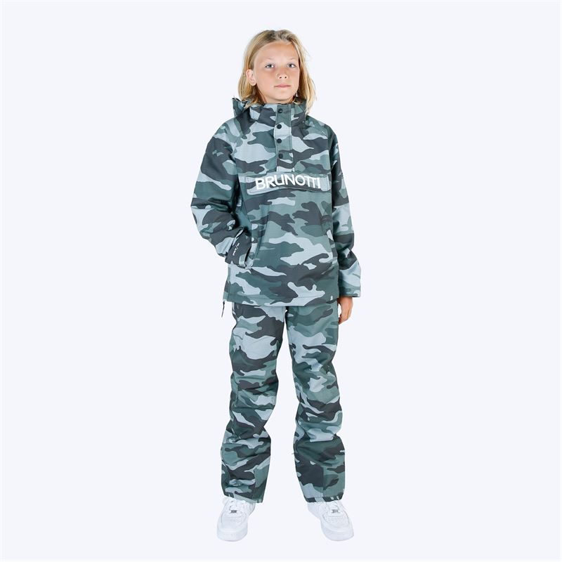 Brunotti Kitebar  (green) - boys snow pants - Brunotti online shop