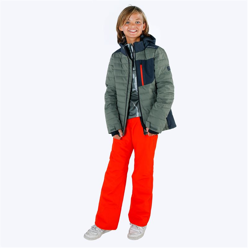 Brunotti Footstrap  (red) - boys snow pants - Brunotti online shop