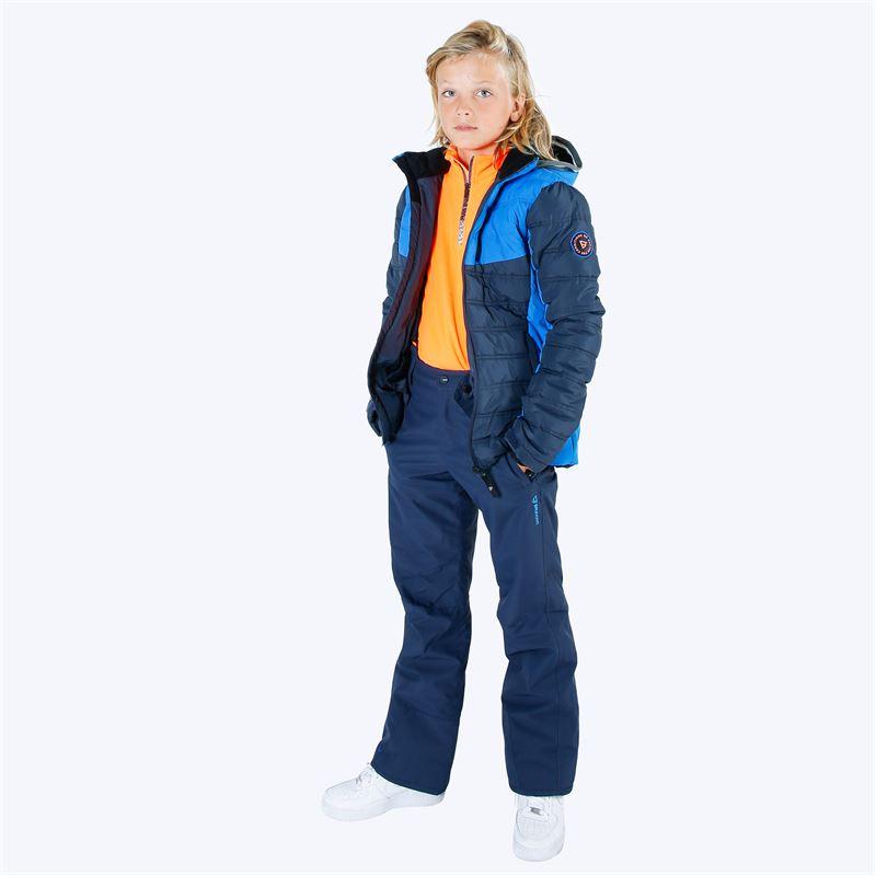 Brunotti Footstrap  (blauw) - jongens skibroeken - Brunotti online shop