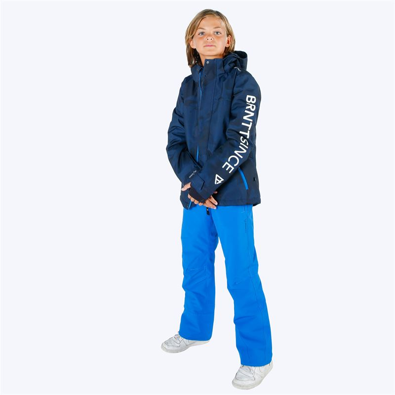 Brunotti Footstrap  (blue) - boys snow pants - Brunotti online shop