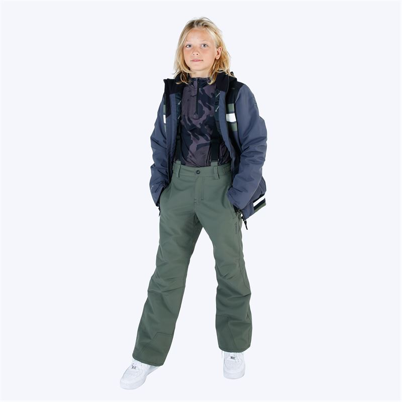 Brunotti Footstrap  (green) - boys snow pants - Brunotti online shop