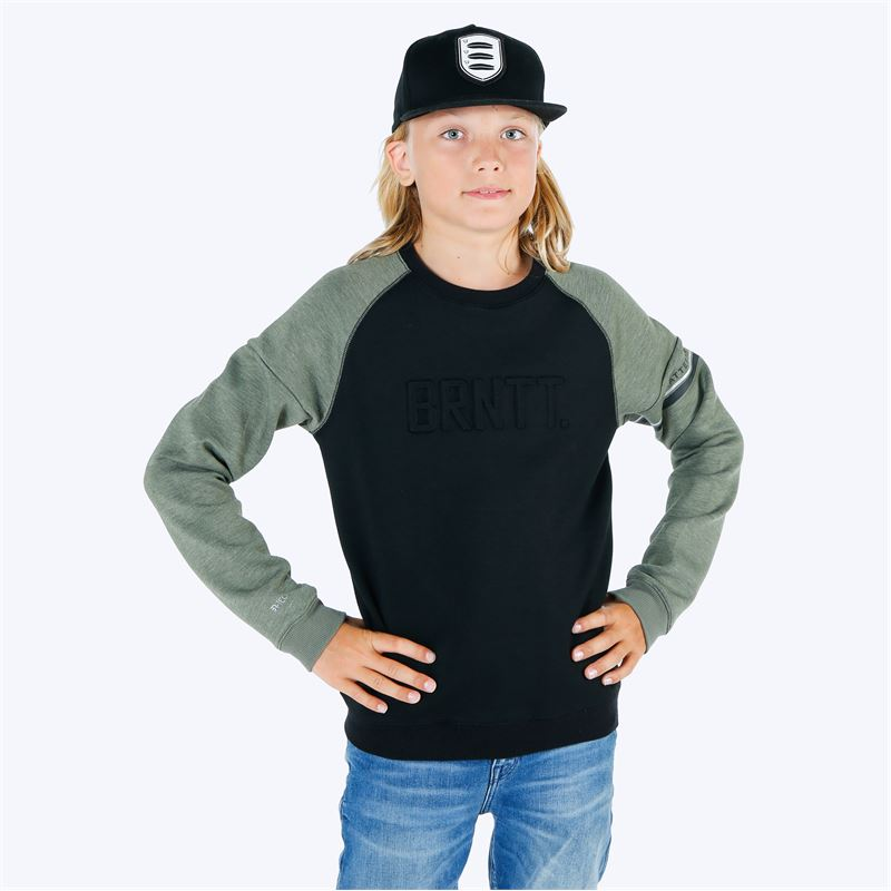 Brunotti Finfoot  (green) - boys sweats & cardigans - Brunotti online shop