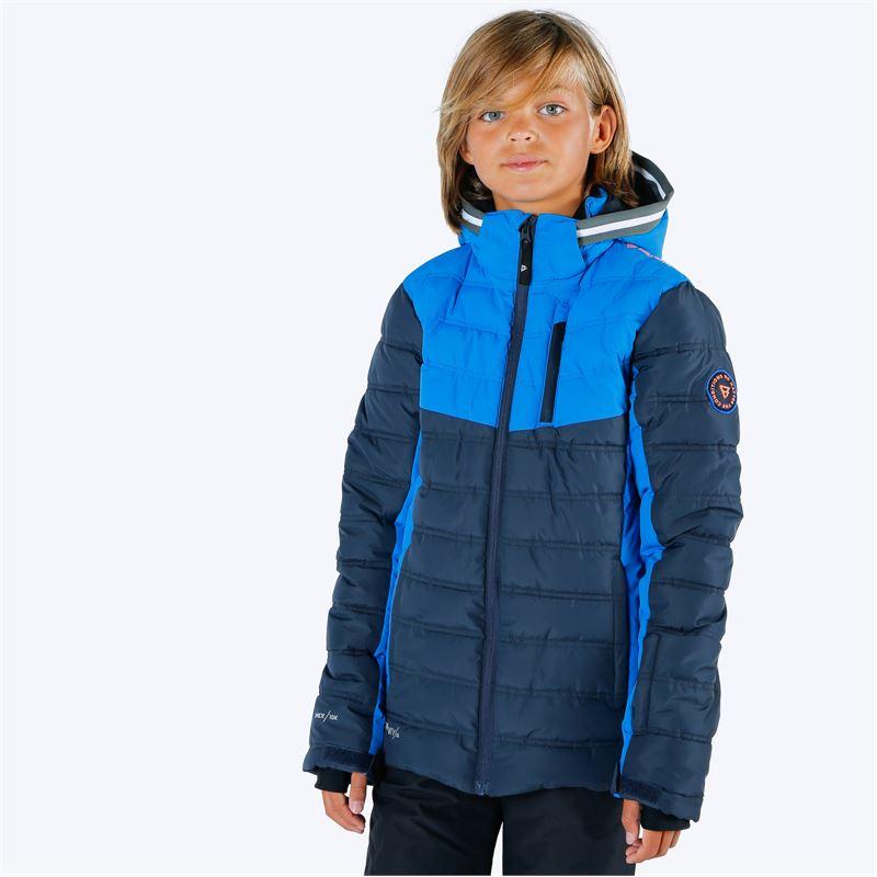 Brunotti Sergas  (blauw) - jongens casual jassen - Brunotti online shop
