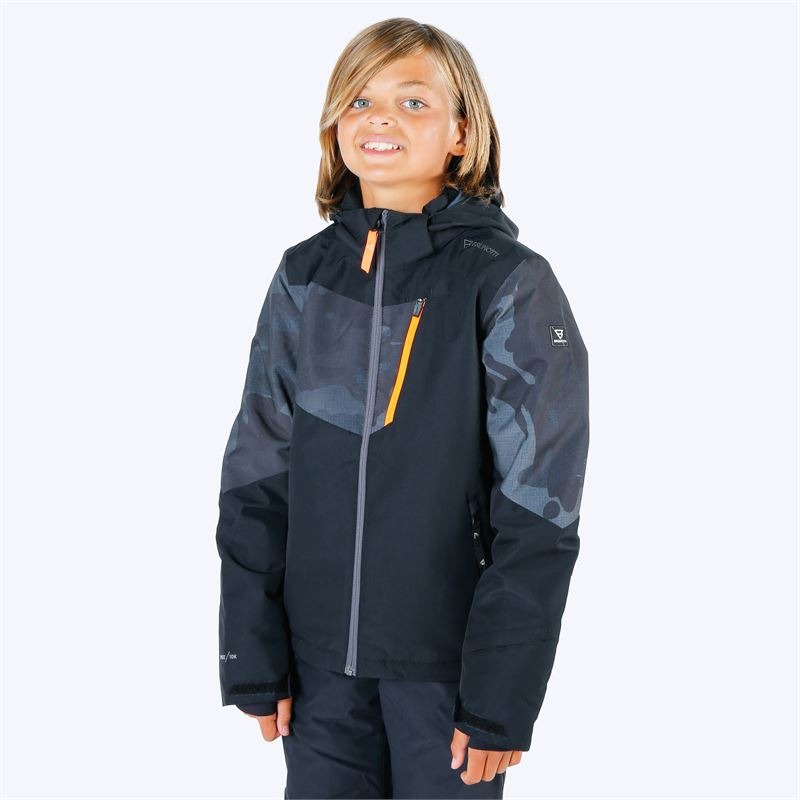 Brunotti Dakoto  (black) - boys snow jackets - Brunotti online shop