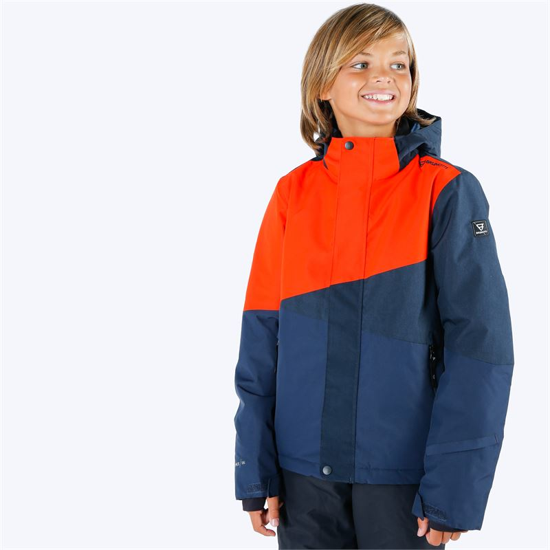 Brunotti Idaho  (red) - boys snow jackets - Brunotti online shop