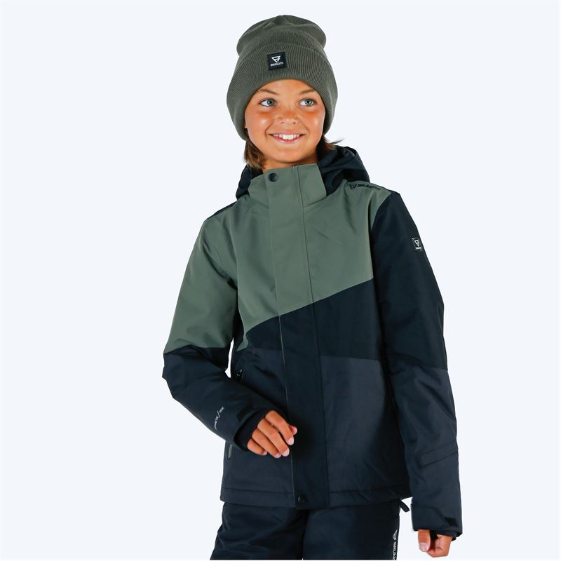 Brunotti Idaho  (green) - boys snow jackets - Brunotti online shop