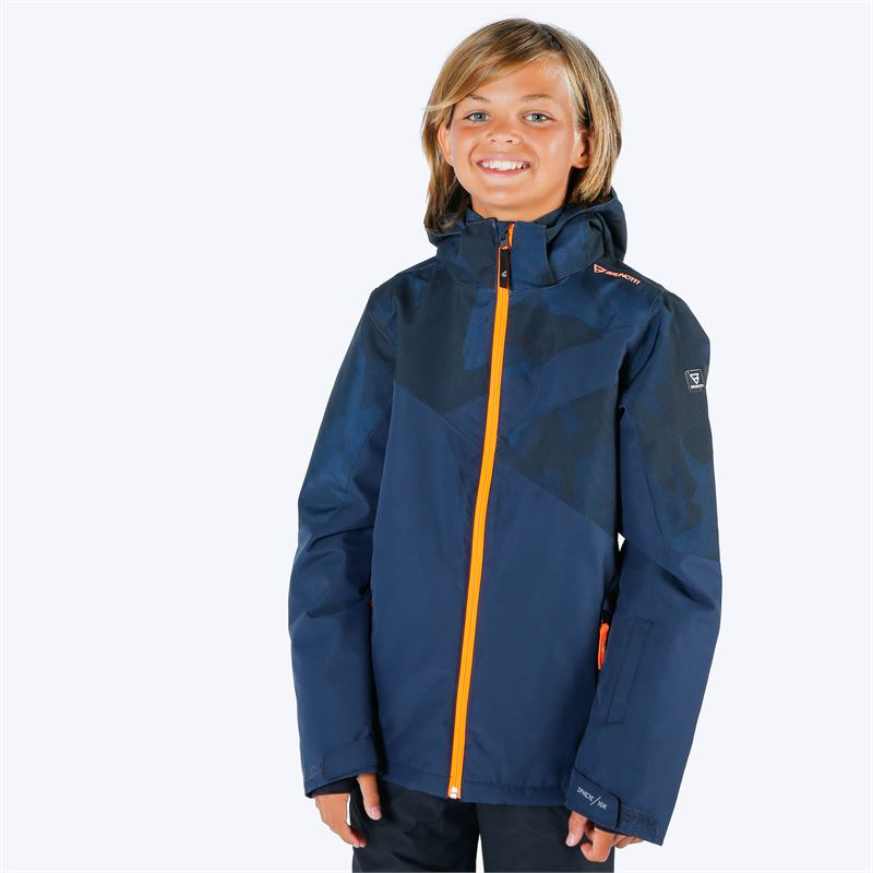 Brunotti Pander  (blauw) - jongens ski-jassen - Brunotti online shop