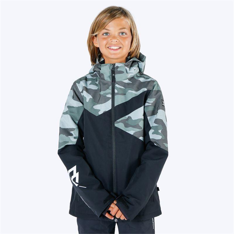 Brunotti Pander  (groen) - jongens ski-jassen - Brunotti online shop