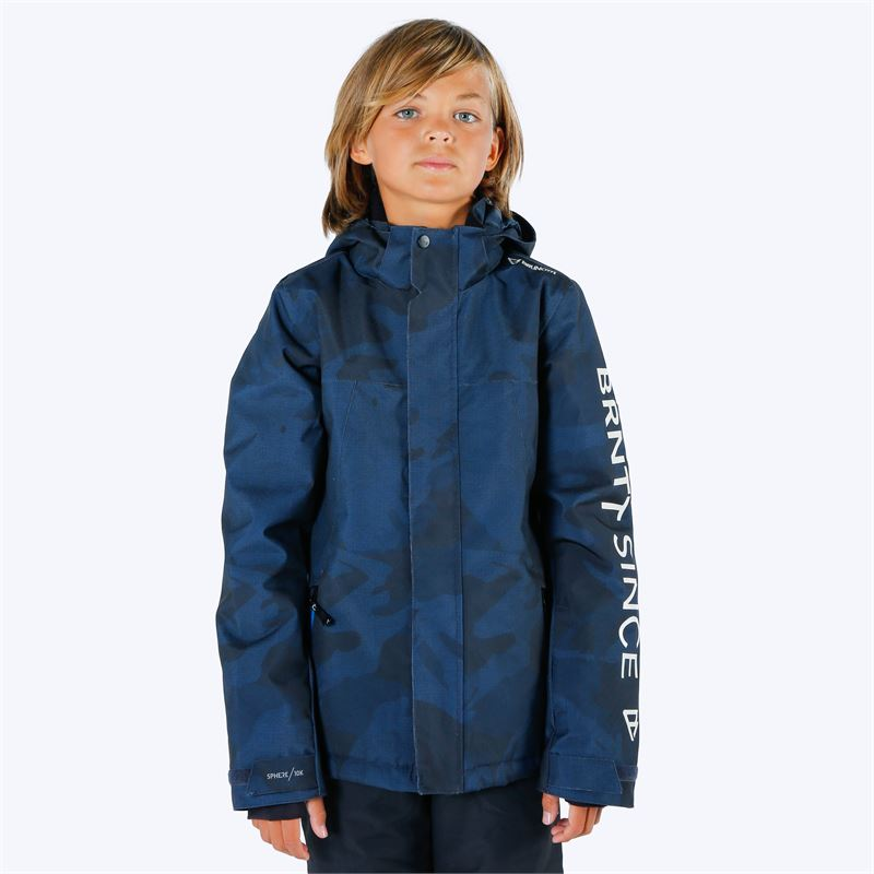 Brunotti Gullies  (blue) - boys snow jackets - Brunotti online shop
