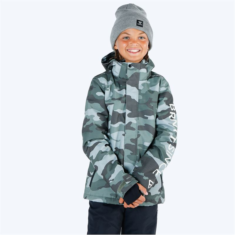 Brunotti Gullies  (green) - boys snow jackets - Brunotti online shop