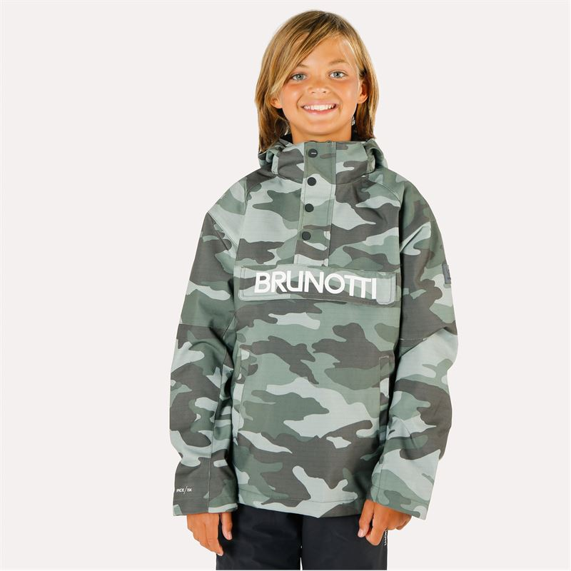 Brunotti Kingers  (grey) - boys snow jackets - Brunotti online shop