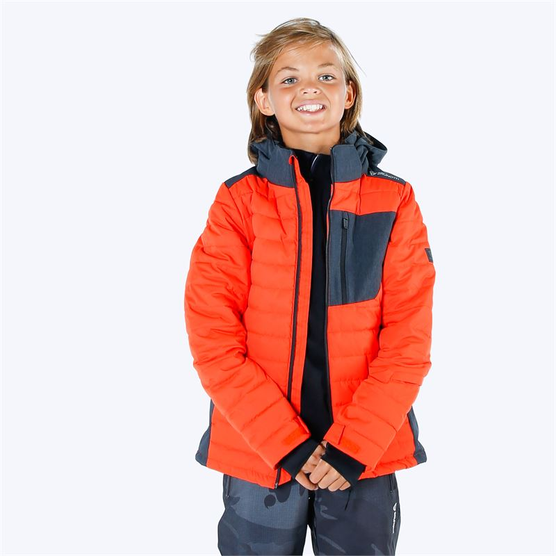 Brunotti Trysail  (red) - boys snow jackets - Brunotti online shop