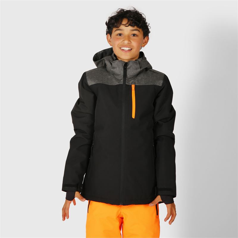 Brunotti Gibson  (black) - boys snow jackets - Brunotti online shop