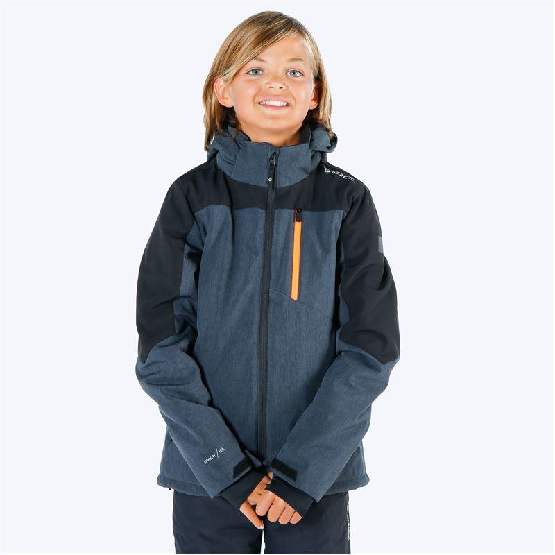 Brunotti Twintip  (grijs) - jongens ski-jassen - Brunotti online shop