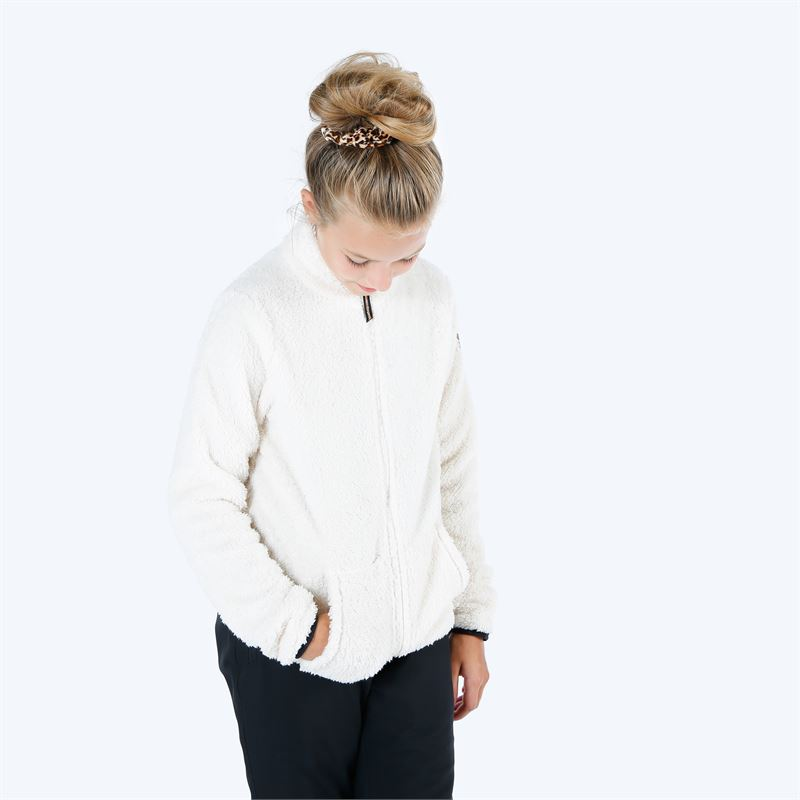 Brunotti Piculet  (wit) - meisjes fleeces - Brunotti online shop