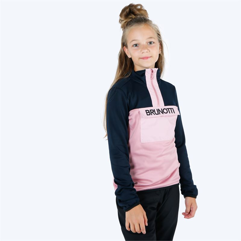 Brunotti Puffin  (pink) - girls fleeces - Brunotti online shop