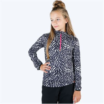 Brunotti Rodia JR Girls Fleece. Beschikbaar in 140,152,164,176 (1924019675-001)