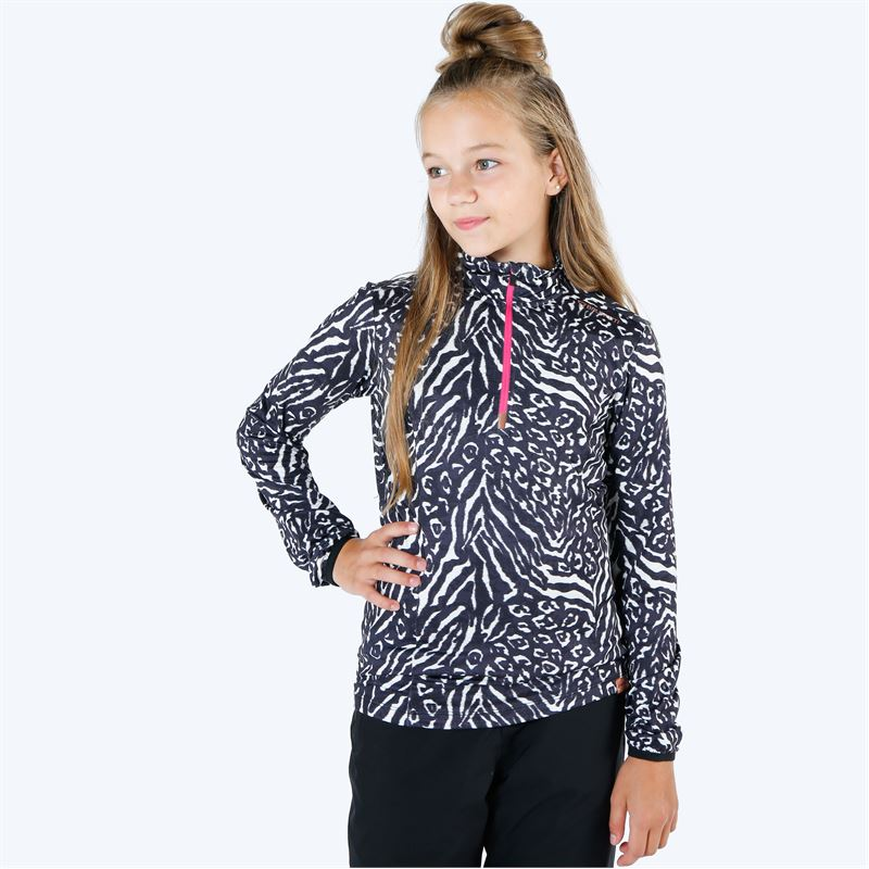 Brunotti Rodia  (wit) - meisjes fleeces - Brunotti online shop
