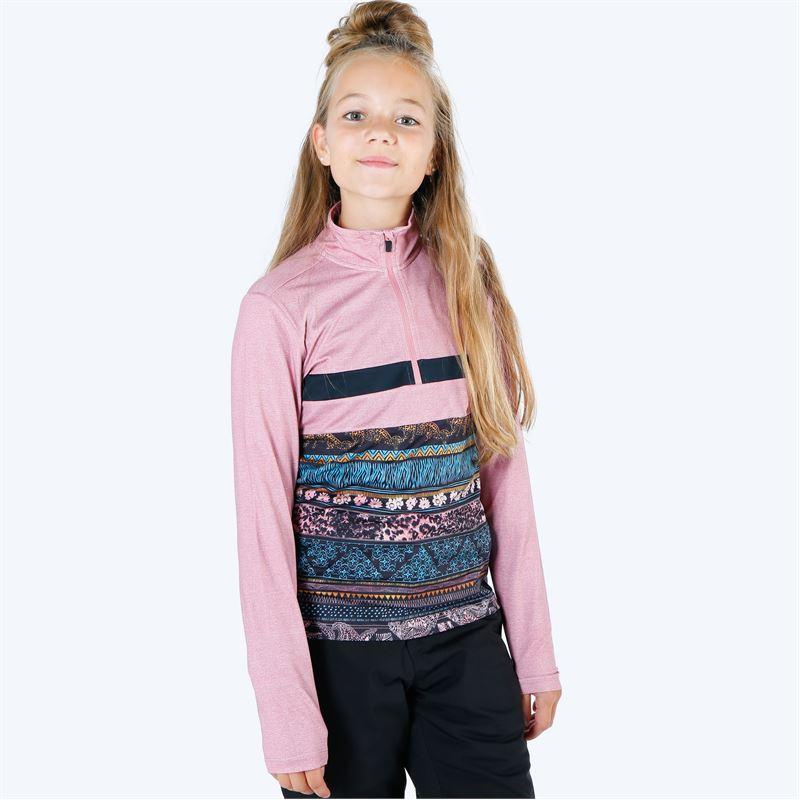 Brunotti Kiwi  (roze) - meisjes fleeces - Brunotti online shop