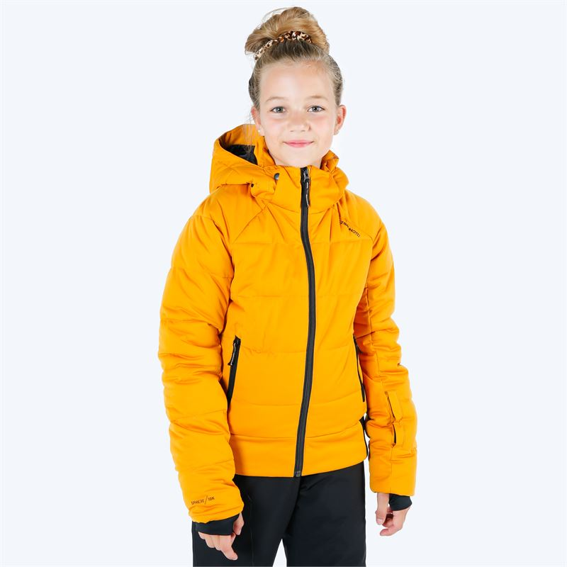 Brunotti Firecrown  (yellow) - girls snow jackets - Brunotti online shop