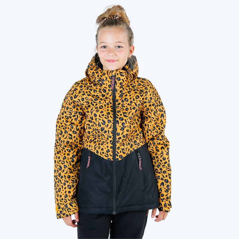 Brunotti Tiger-Heron  (geel) - meisjes ski-jassen - Brunotti online shop