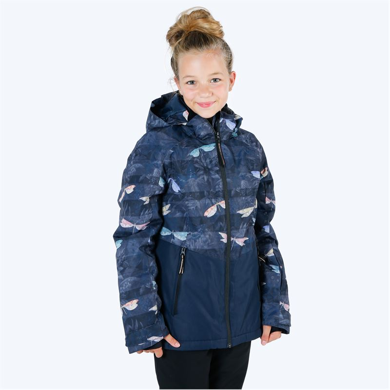 Brunotti Tiger-Heron  (blauw) - meisjes ski-jassen - Brunotti online shop