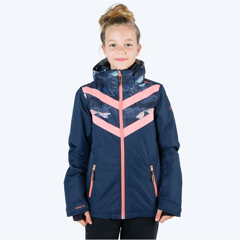 Brunotti Pelikan  (blue) - girls snow jackets - Brunotti online shop