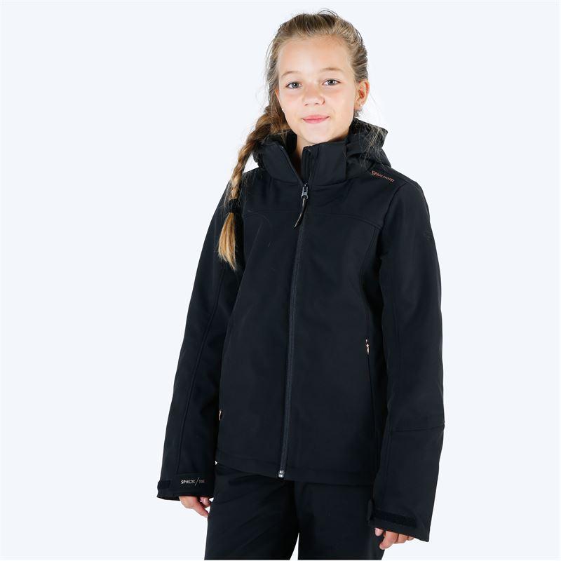 Brunotti Ariesta  (zwart) - meisjes ski-jassen - Brunotti online shop
