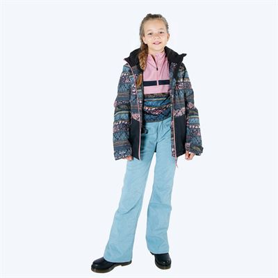 Brunotti Silvereye Melange JR Girls Softshell pant. Available in 116,128,140,152,164,176 (1924125644-0537)