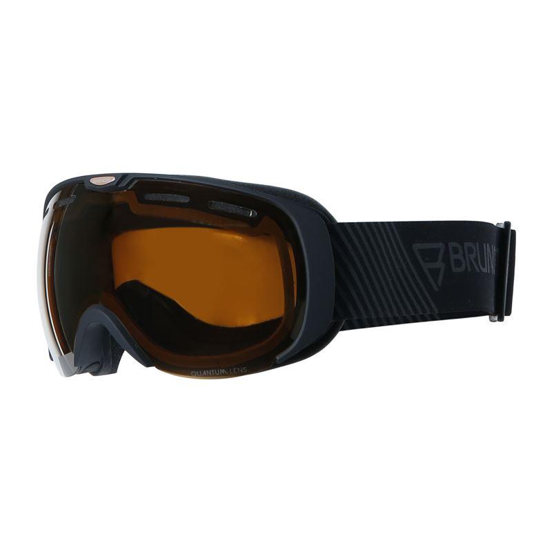 Brunotti Deluxe  (zwart) - heren ski / snowboard brillen - Brunotti online shop