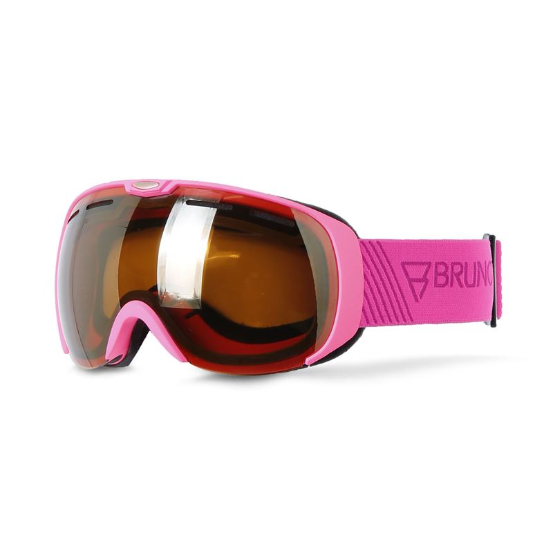 Brunotti Deluxe  (pink) - men snow goggles - Brunotti online shop
