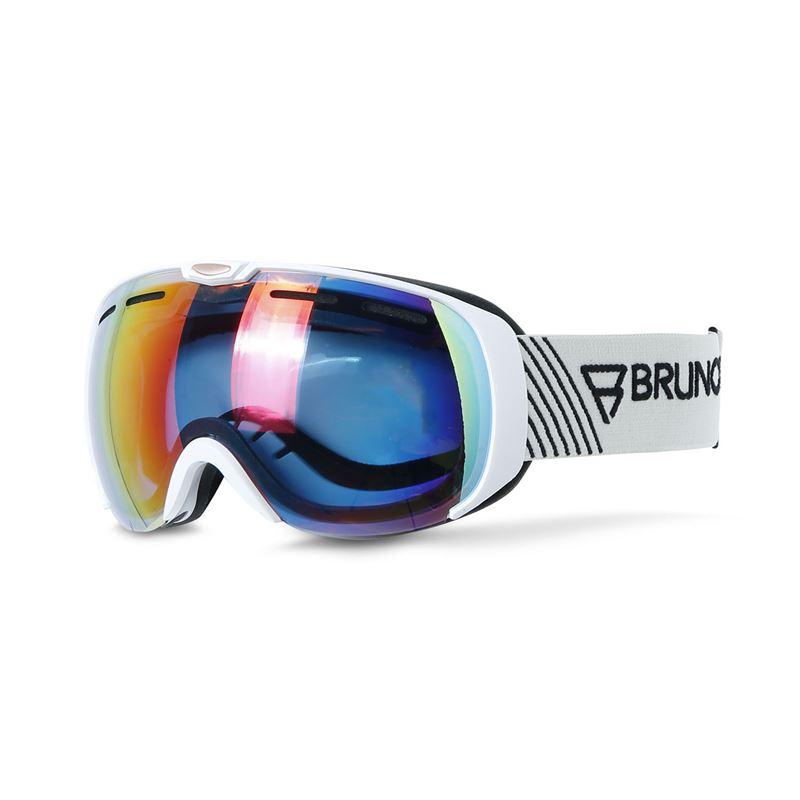 Brunotti Deluxe  (wit) - heren ski / snowboard brillen - Brunotti online shop