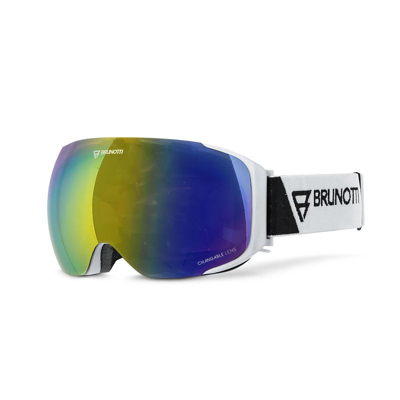 Brunotti Optica  (wit) - heren ski / snowboard brillen - Brunotti online shop