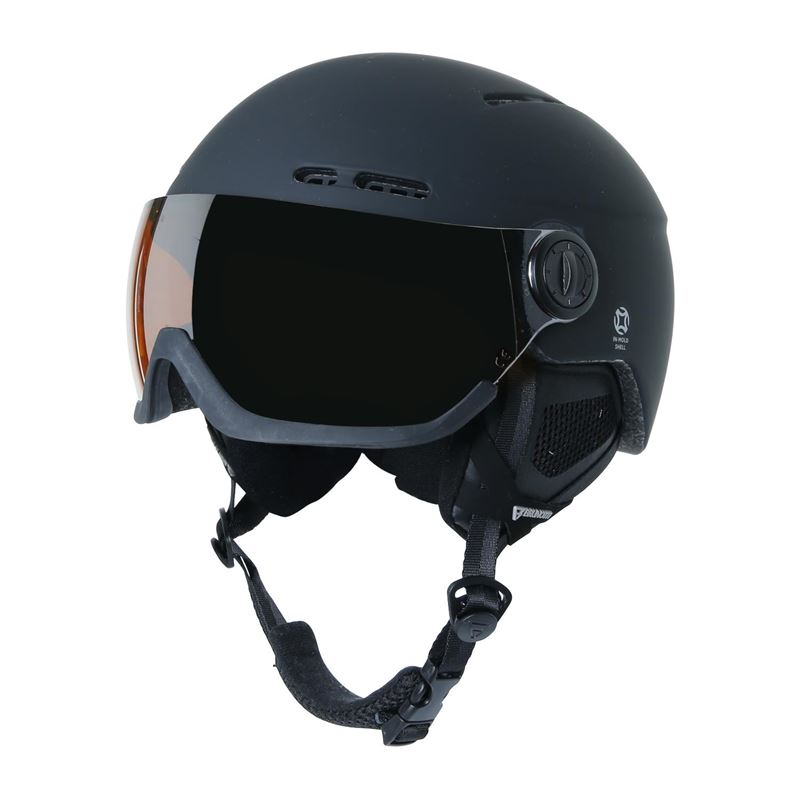 Brunotti Robotic  (zwart) - heren ski / snowboard helmen - Brunotti online shop