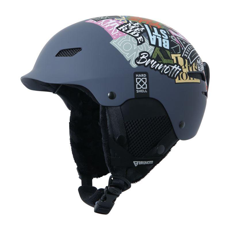 Brunotti Proxima-2  (grijs) - jongens ski / snowboard helmen - Brunotti online shop