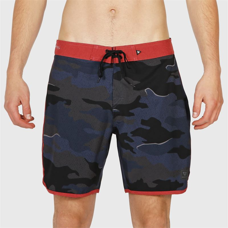 Brunotti Paxton-Camo  (blue) - men boardshorts - Brunotti online shop