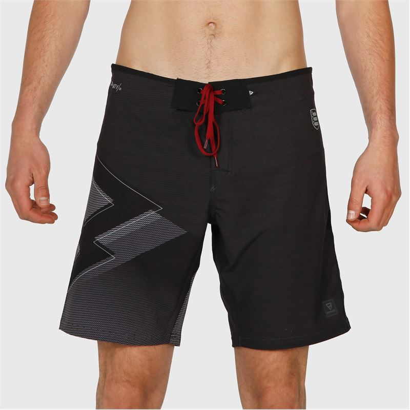 Brunotti Weston-PP  (zwart) - heren boardshorts - Brunotti online shop