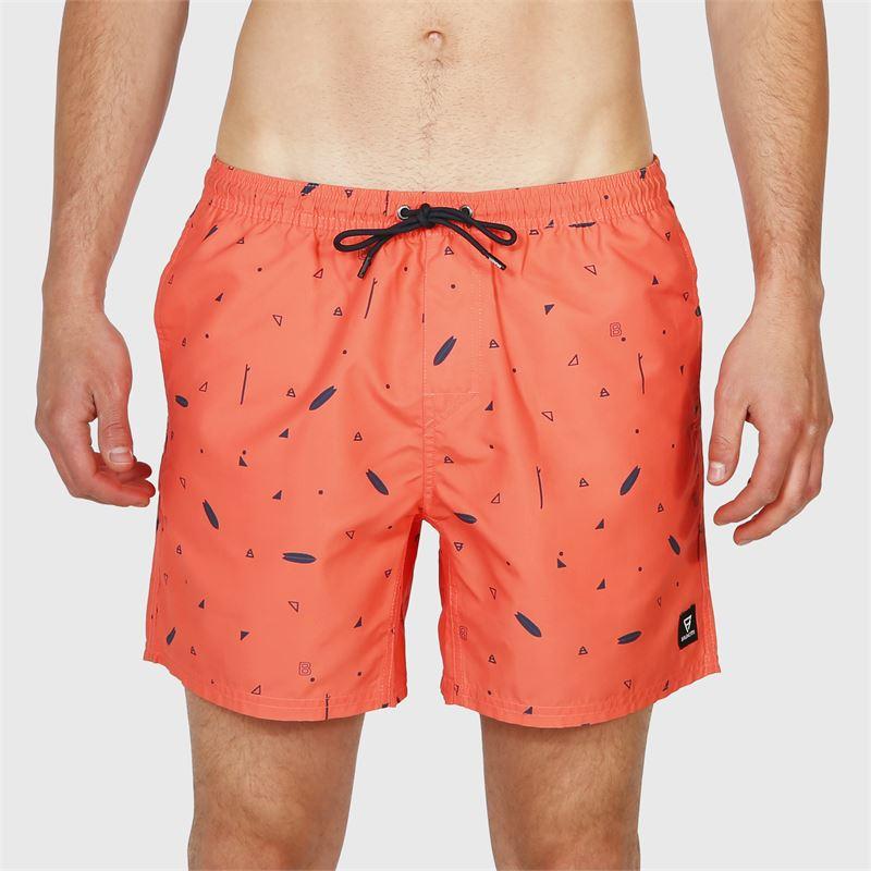 Brunotti Tasker-Mini-AO  (roze) - heren zwemshorts - Brunotti online shop