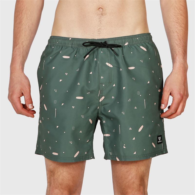 Brunotti Tasker-Mini-AO  (green) - men swimshorts - Brunotti online shop