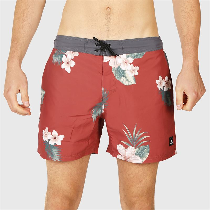 Brunotti Charles-AO  (red) - men swimshorts - Brunotti online shop