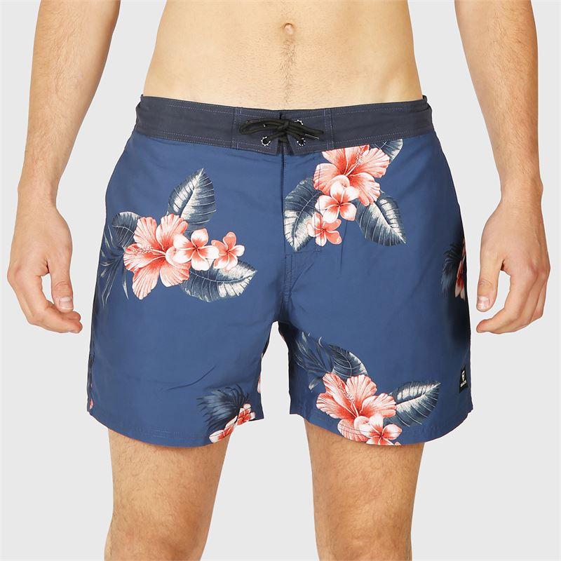 Brunotti Charles-AO  (blauw) - heren zwemshorts - Brunotti online shop