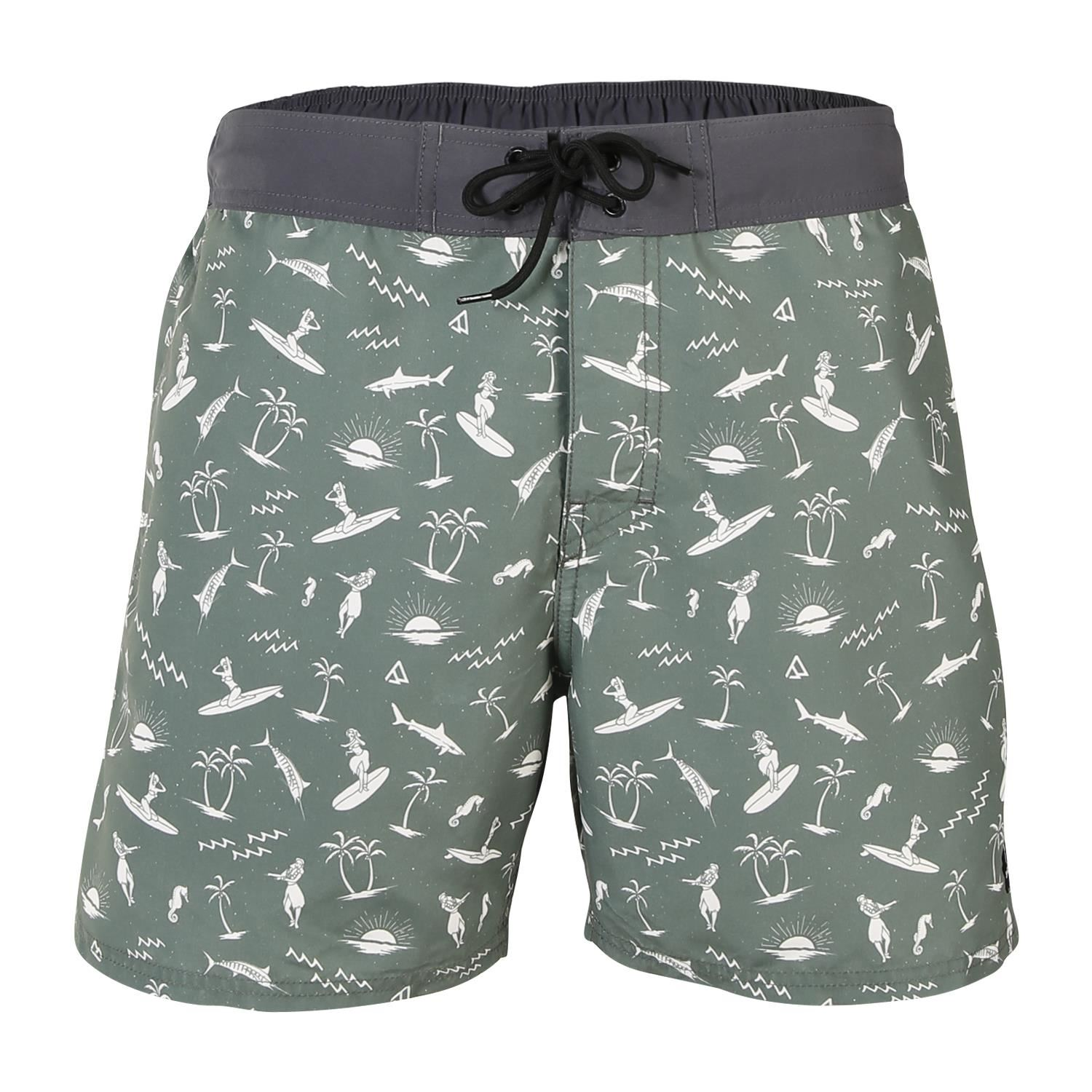 Brunotti Charles-Mini-AO  (green) - men swimshorts - Brunotti online shop