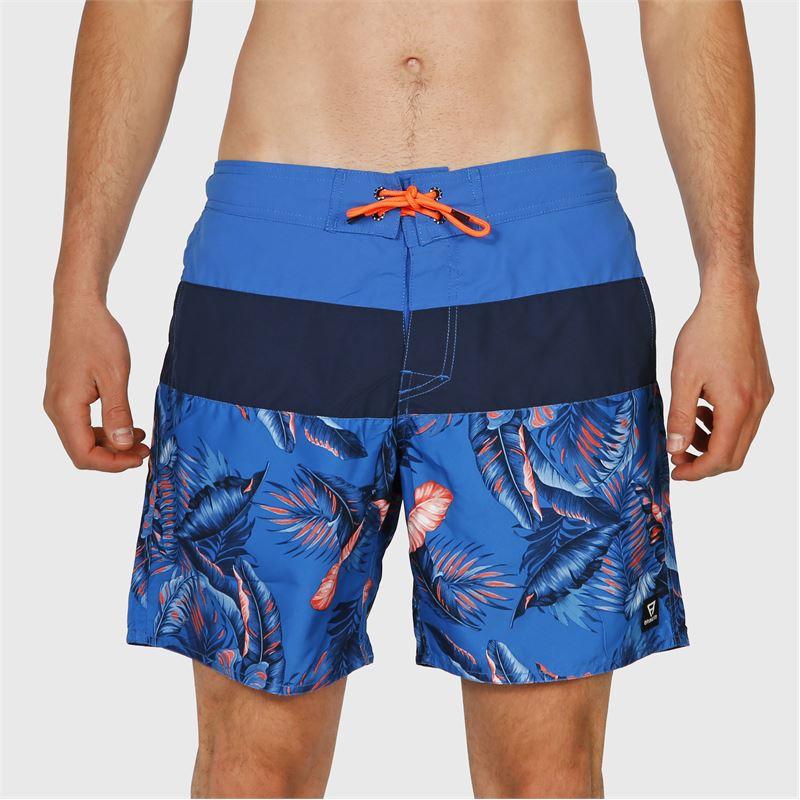 Brunotti Catamaran-AO  (blauw) - heren zwemshorts - Brunotti online shop