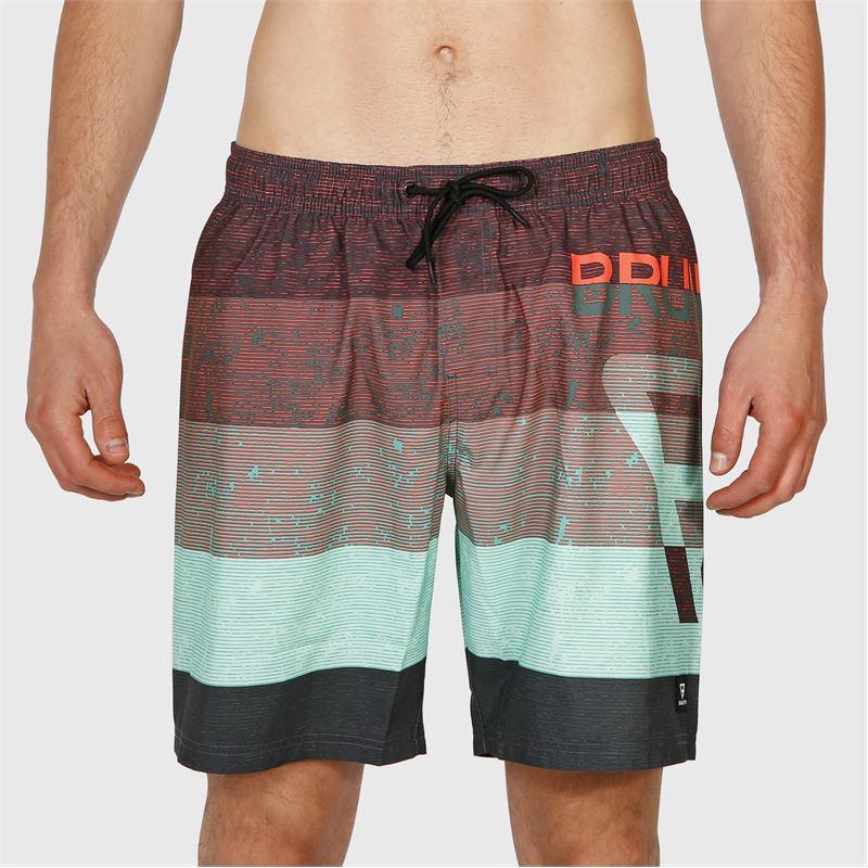 Brunotti Kelvin-PP  (grijs) - heren zwemshorts - Brunotti online shop