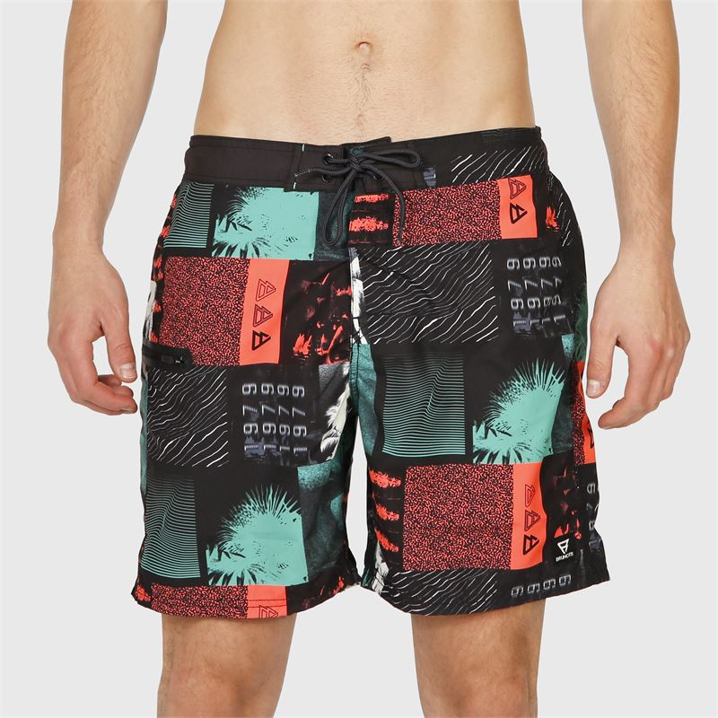 Brunotti Frye-ZIP  (black) - men swimshorts - Brunotti online shop