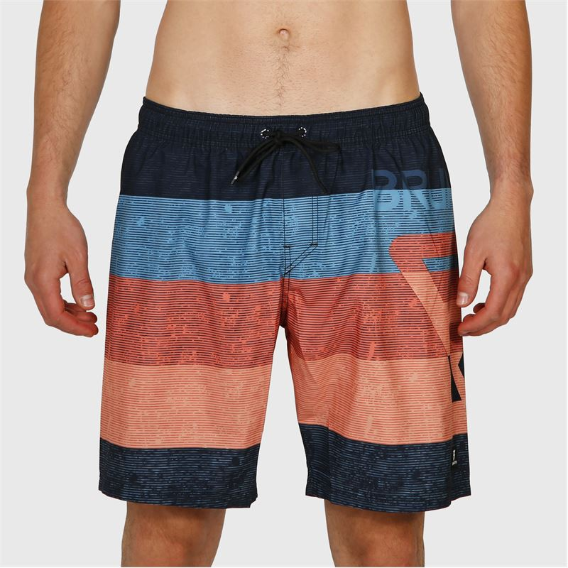 Brunotti Kelvin-S  (blauw) - heren zwemshorts - Brunotti online shop