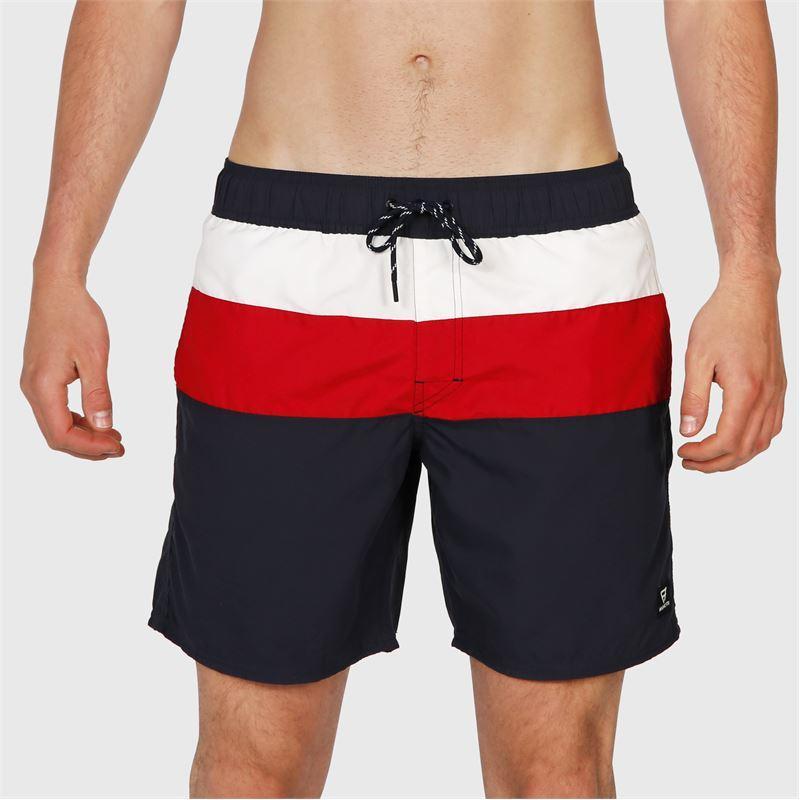 Brunotti Anthony-S  (blauw) - heren zwemshorts - Brunotti online shop