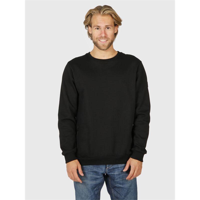 Brunotti Tauro-N  (schwarz) - herren sweatshirts & sweatjacken - Brunotti online shop