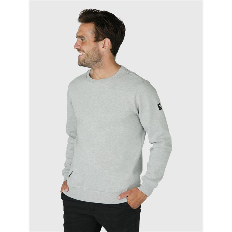 Brunotti Tauro-N  (grijs) - heren truien & vesten - Brunotti online shop