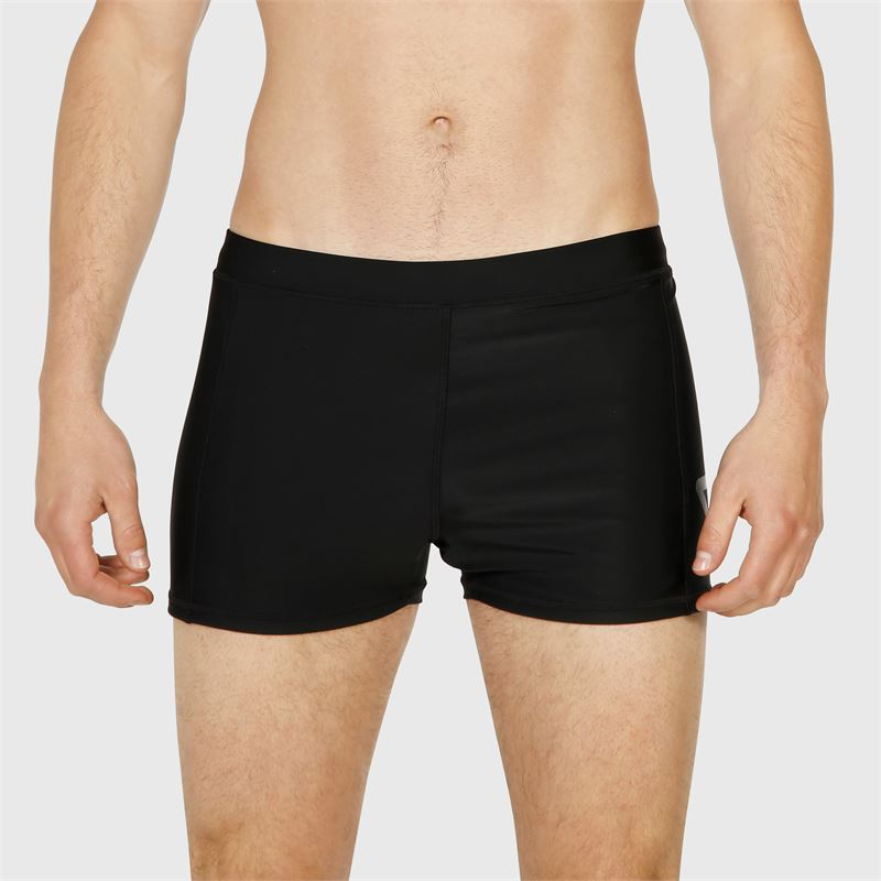 Brunotti Berkley-Logo  (zwart) - heren zwemshorts - Brunotti online shop